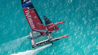Goff plays down govt stoush over America's Cup base