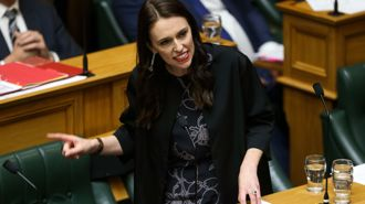 Ardern: It's still rare to see a woman in the top job