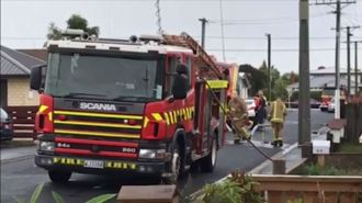 Neighbour rescues man from fatal Dunedin fire