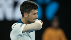 Novak Djokovic upset at Aussie Open by up-and-comer