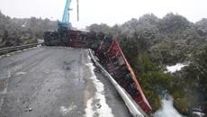 Truck crash has lasting ramifications for Desert Road