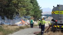Possible human remains found in burnt-out house-bus