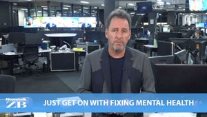 Mike's Minute: Just get on with fixing mental health