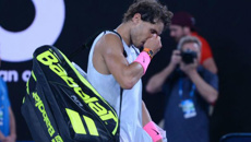 Rafael Nadal forced to pull out of Aussie Open as upsets reign