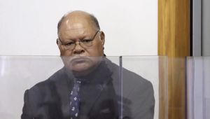 Talakai Aholelei sentenced at the Waitakere District Court. (Photo / NZ Herald)