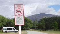 Freedom camping ban to be implemented in Queenstown