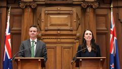 James Shaw entered the Greens into a coalition agreement with the Labour Party. (Photo / Getty)
