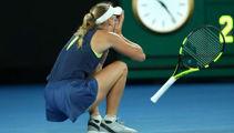 Tennis: Wozniacki wins first Grand Slam title after thrilling Australian Open final