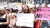 Glittery march for consent turns heads in Auckland
