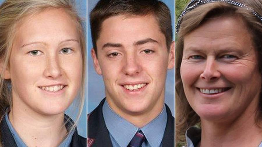 Sadie Stewart, Jamie Wearmouth and Susanna Stewart died in the car crash near Dargaville. (Photo / Supplied)