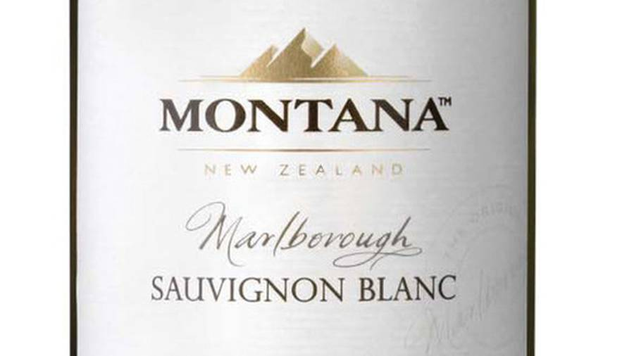 An image of a Montana Sauvignon Blanc from 2010 proudly boasts that it's from Marlborough. The company is using grapes from Australia for its 2017 wine. (Photo \ File)