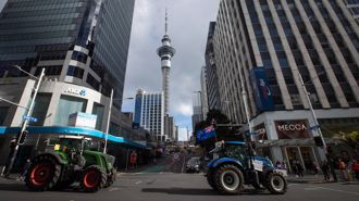 Andrew Dickens: I got swept up in the tractor protests in Auckland