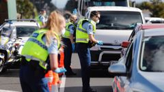 Police have issued 1213 infringements nationwide this level 4 national lockdown. (Photo / Dean Purcell)