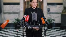 'Stoked to be back': Kiritapu Allan returns to Parliament