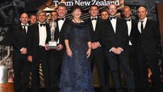 Team New Zealand receive top gong at Halberg Awards