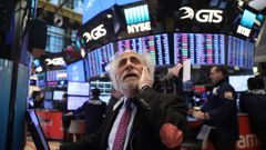 The US stock market plunged again Friday (NZT) amid a huge swing in equities. (Photo \ Getty Images)