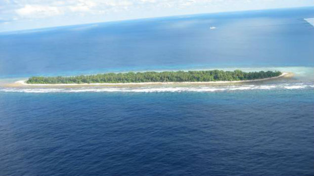 Researchers from Auckland University say Tuvalu has seen a net increase in land area of 2.9 percent in the last 40 years. (Photo: NZ Herald)