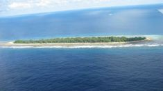 Tuvalu bigger than 40 years ago