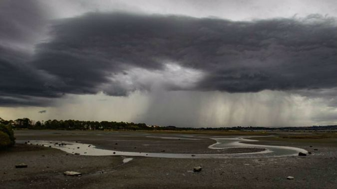 Stormy weather has led to concerns about wastewater overflowing (Image / NZH)