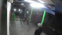Watch: CCTV shows thugs terrorising store staff