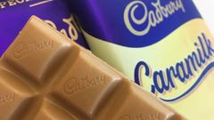 Cadbury Caramilk bars have ended up being sold on eBay. (Photo / Supplied)