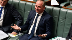 National MP's had secret WhatsApp group on Barnaby Joyce