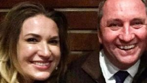 Barnaby Joyce and former staffer Vikki Campion. (Photo \ Supplied)
