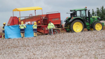 Man killed by potato harvester student from India