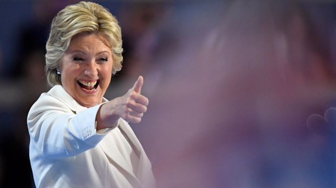 The former Presidential candidate will be in New Zealand as part of her book tour. (Photo / NZ Herald)