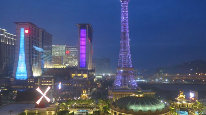 Cotai Strip in Macau. (Photo/ Mike Yardley)