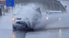 Forecasts are suggesting Christchurch could get more than 70mm of rain in 24 hours, which is enough to flood streets. (Photo \ NZ Herald)