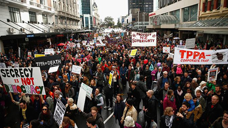 Anti TPPA group concerned NZ will give away too much