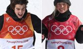 The two 16-year-olds are New Zealand's latest Olympians. (Photo / NZ Herald)