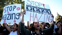 US parents unite to fight college hazing