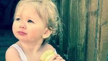 'I'm going to have to teach her not to cry' - The toddler alergic to water