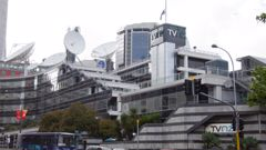TVNZ Building (Photo \ Getty Images)