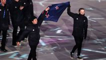 NZ marches in Winter Olympics closing ceremony