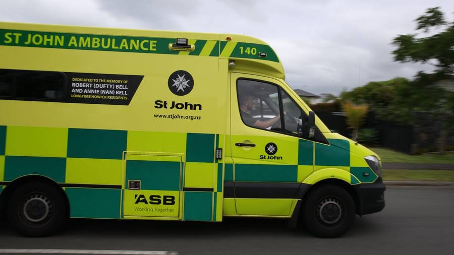 Police stop stolen ambulance using road spikes