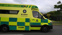 Man charged with stealing ambulance as it attended a patient