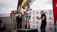 Kate Weatherly at NZ Downhill Series Round 3