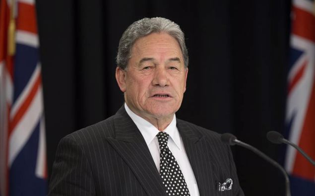NZ First leader Winston Peters. (Photo \ Mark Mitchell)
