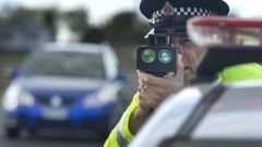 Police with speeding camera (Photo \ File)