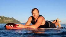 Scott Robertson: I felt 'true fear' during shark attack