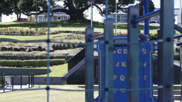 A facility housing convicted sex offenders overlooked a playground at Laurie Hall Park in central Whangarei. (Photo: Northern Advocate)