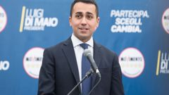 Luigi De Mario, leader of the anti-establishment 5-Star Movement, says the party was ready to take on a responsible leadership role. (Photo \ Getty Images)