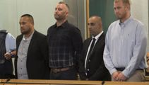 Six in court over record $20m cocaine bust