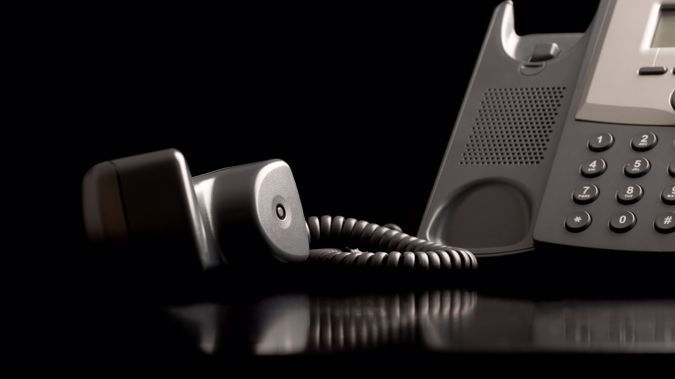 The scammer called multiple times on Tuesday afternoon. (Photo / Getty)