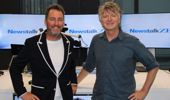 Neil Finn and Mike Hosking. (Photo \ NZME)
