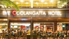 The attack happened outside the Gold Coast's Coolangatta Hotel in December 2015. 9Photo / Supplied)