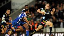 Rugby: Highlanders weather the storm to claim win